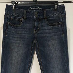 American Eagle Super Stretch Artist Jeans 8 Reg